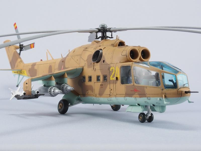 ハセガワ ミル Mi-24 ハインドA